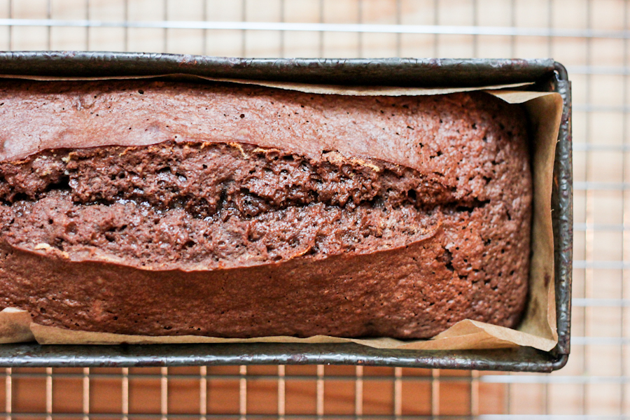 Chocolate hazelnut loaf