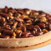 Caramelised Nut Tart
