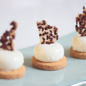 Vanilla and Praline Mousse